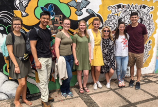 ULM students study abroad in Costa Rica