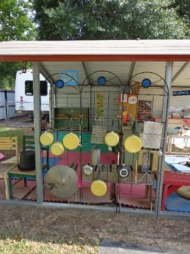 photo of playground pots and pans