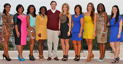 Photo of Homecoming Court