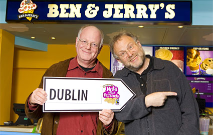 Photo of Ben and Jerry