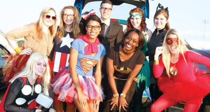Photo of 2012 trunk-or-treat