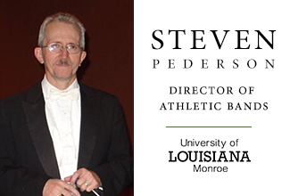 Steven Pederson returns to ULM as director of athletic bands