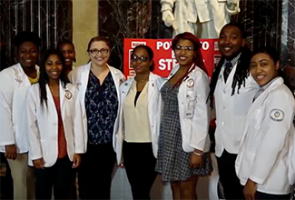 Pharmacy Students Attend Opening of Legislature