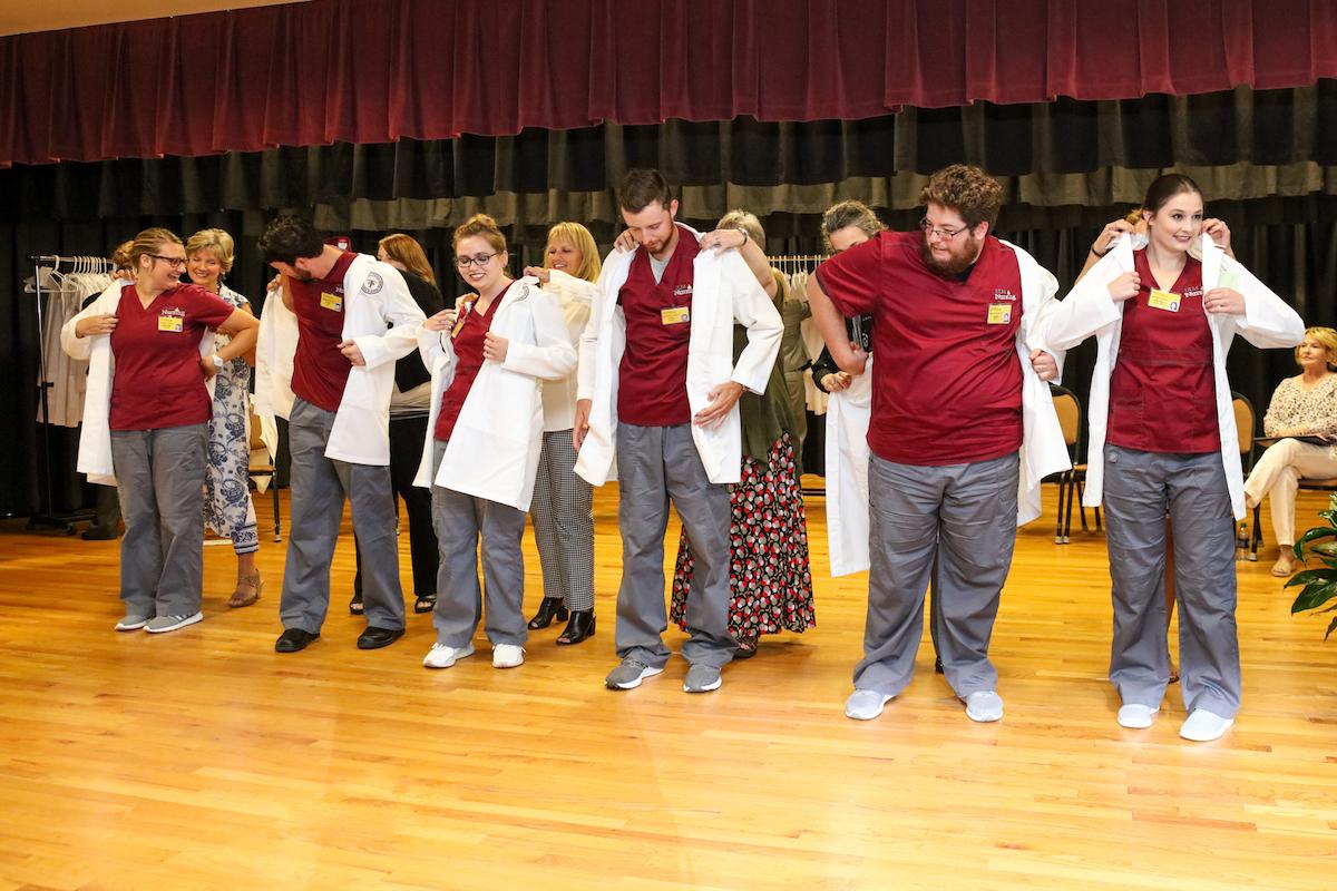 White Coat Ceremony held for nursing students