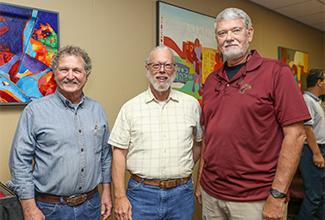 Three professors retire from ULM