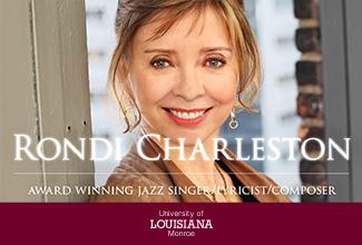 Jazz Artist Rondi Charleston to perform at ULM Jan. 24