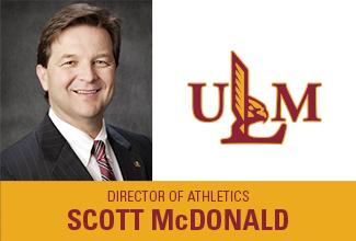 Scott McDonald named ULM Director of Athletics