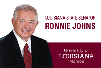 Louisiana State Senator Ronnie Johns named ULM