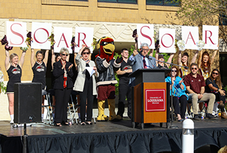 ULM SOAR Campaign Officially Reaches Seventy Percent Threshold