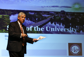 Bruno delivers State of the University address
