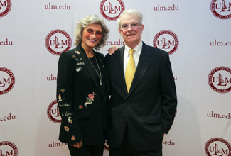 Turrentines honored for giving over $1 million to College of Business and Social Sciences