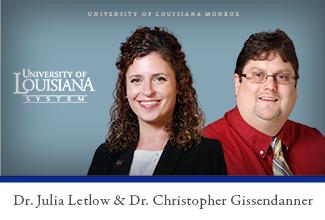 Letlow, Gissendanner representing ULM in Leadership Institute