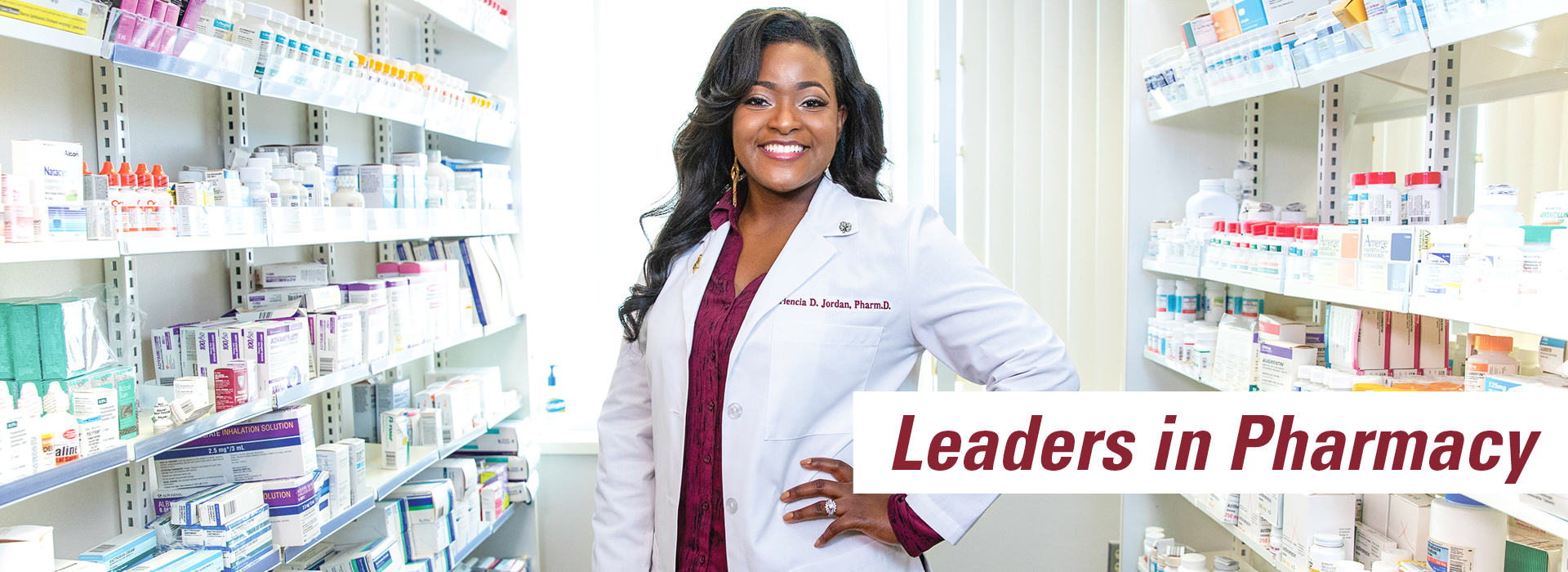 Leaders in Pharmacy banner ad