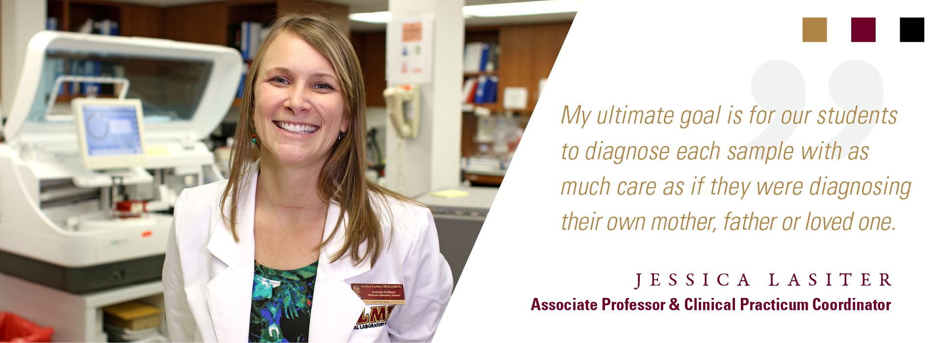 faculty testimonial jessica lasiter