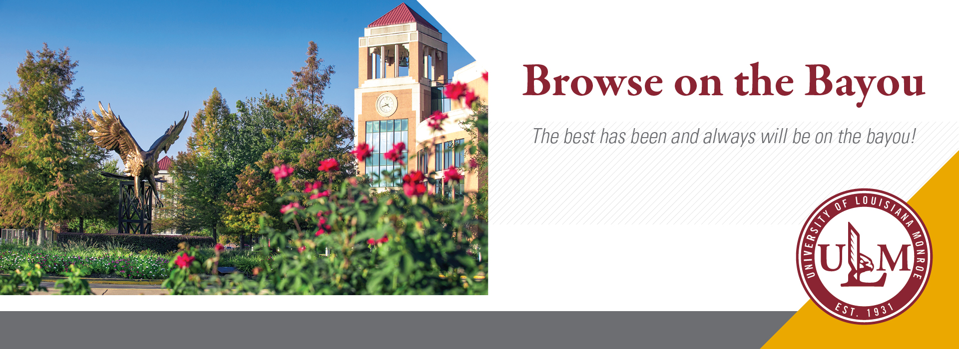 Browse on the Bayou March 30, 2019 banner ad