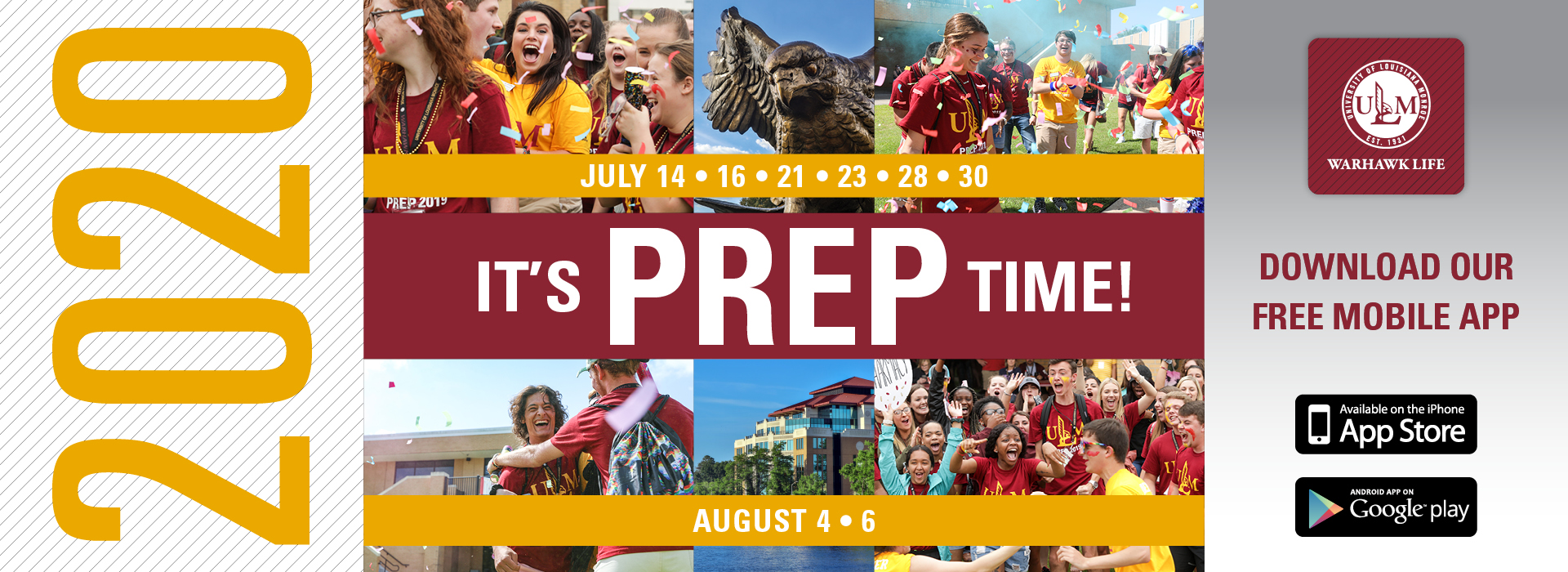 It's PREP time banner ad