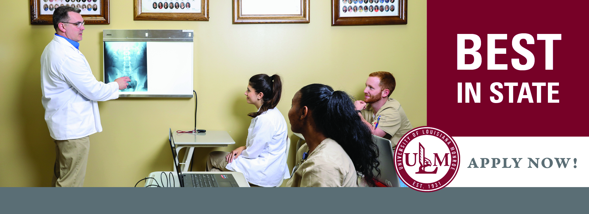 Radiologic Technology Program banner ad