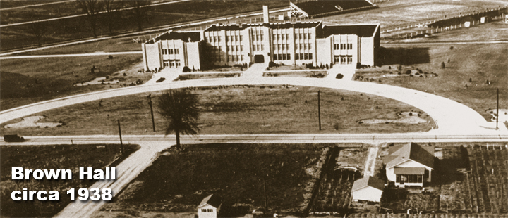 Brown Hall circa 1938