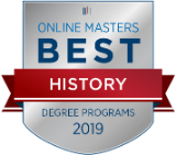 Online Masters Best History 2019