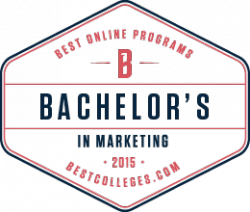 best online program, bestcolleges.com badge