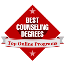 ranked by affordable colleges online graphic