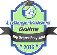 college values online top degree programs graphic