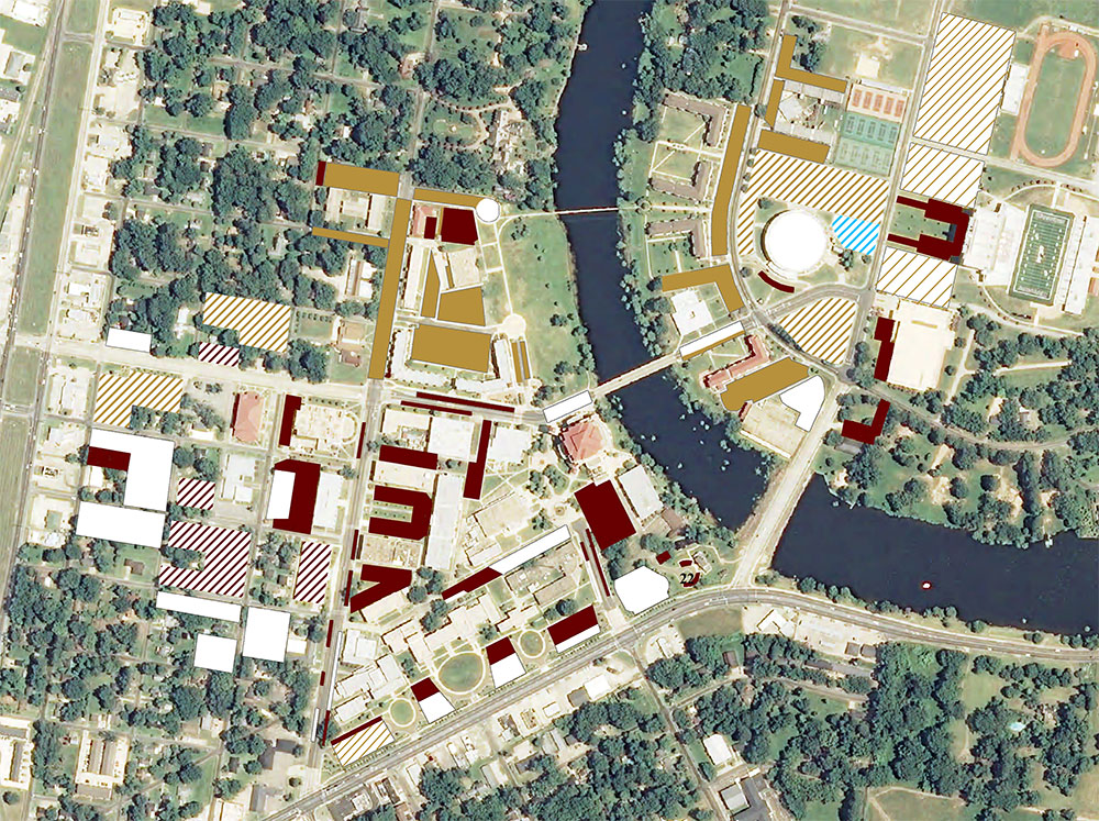 ULM Parking Zones ULM University of Louisiana at Monroe