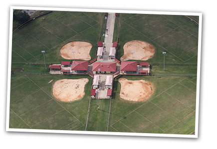 aerial view of outdoor complex