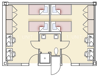 Masur Hall Floorplan