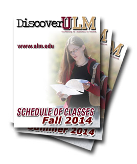 schedule of classes cover art