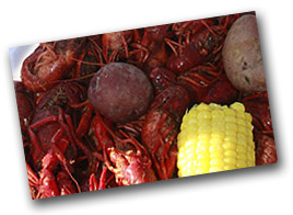 photo of crawfish plate