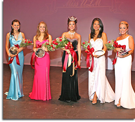 Miss ULM 2007 Top 5 Contestants