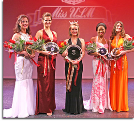 Miss ULM 2008 Top 5 Contestants