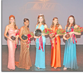 Miss ULM 2009 Top 5 Contestants