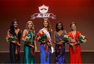 photo of top five in 2017 pageant