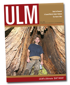 ULM Magazine - Fall 2008
