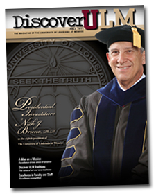 Discover ULM Magazine - Fall 2011