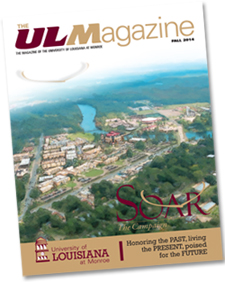 The ULM Magazine - Fall 2014