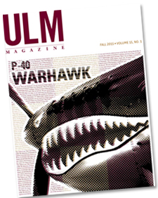 Image of Fall 2015 ULM Magazine cover