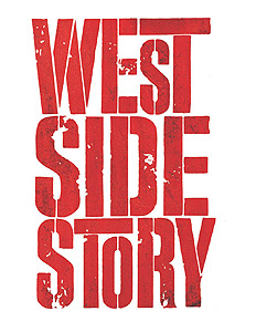 west side story logo graphic