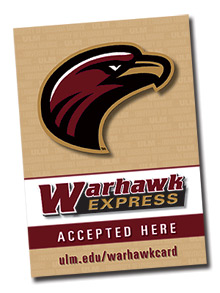 warhawk express accepted here